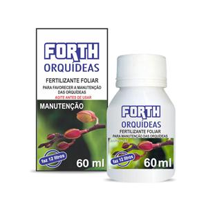 FERTILIZANTE FORTH ORQUÍDEAS MANUTENÇÃO 60mL